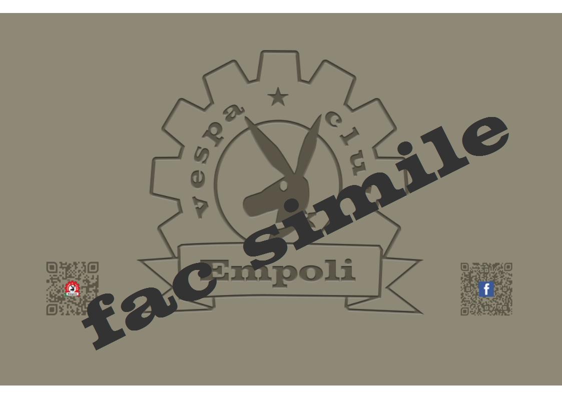 Tessera, Vespa Club Empoli