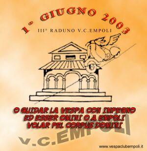 02-3° Raduno Città di Empoli (01.06.2003)