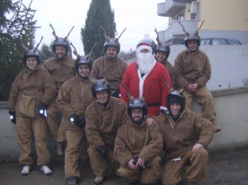 25-Babbo Natale in Vespa (23.12.2007)