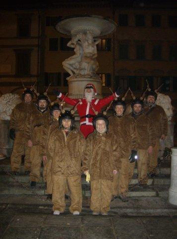 22-8° Compleanno VCE e Babbo Natale in Vespa (21.12.2008)