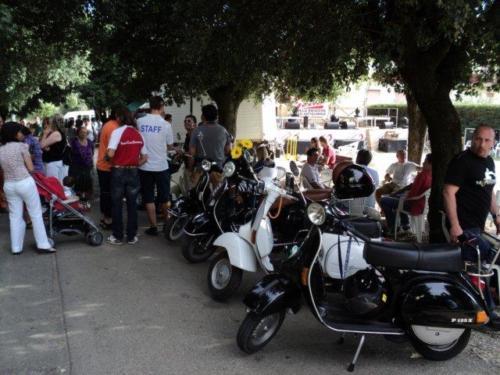 05-Vespa, Gelato e Brioche San Pancrazio (04.07.2010)