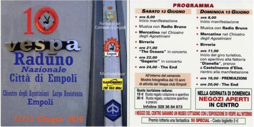 03-10° Raduno Città di Empoli (12-13.06.2010)